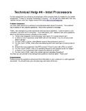 Technical Help #4 - Processors