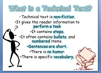 Technical Texts