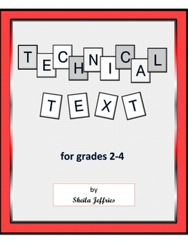 Technical Texts for Grades 2-4