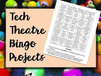 Technical Theatre Bingo Projects
