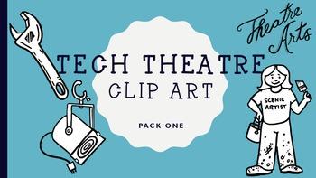Technical Theatre Clip Art