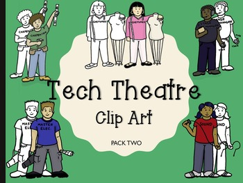 Technical Theatre Clip Art (people)