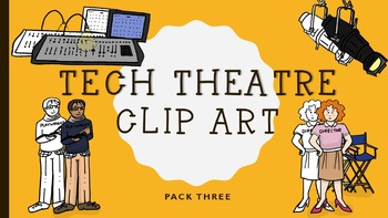 Technical Theatre Clip Art (people and lighting)