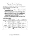 Technical Theatre Design Project and Rubric