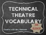 Technical Theatre Vocabulary