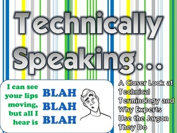 "Technical Words - ""What's With That Word?"""