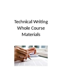 Technical Writing Course Materials