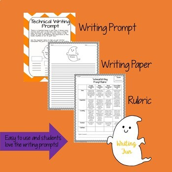 Technical Writing: Halloween Writing for Middle and High School