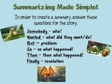 Technique for Teaching Summary
