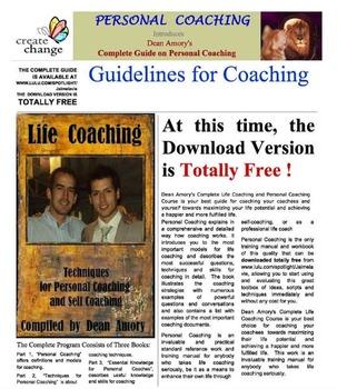 Techniques For Personal Coaching, Life Coaching and Self Coaching