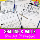 Shading Techniques in Drawing, Art Lessons