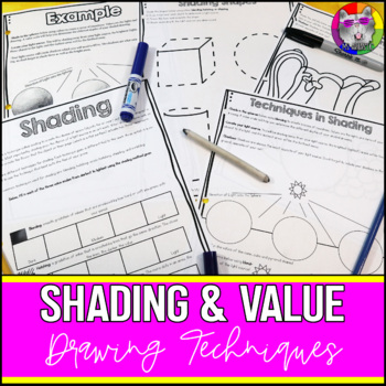 Shading, Drawing Art Lessons