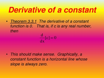 Techniques of Differentiation