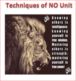 Techniques of NO Unit Lesson 2 -- What, When and How to Say NO