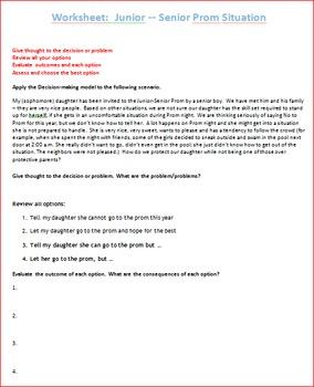 Techniques of NO Unit Lesson 5 -- The Process of Decision Making