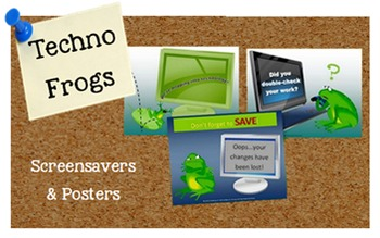 Techno Frogs Screensavers and/or Posters