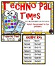 Techno Pal Times Multiplication 9 Facts Third Grade Math File Folder Game