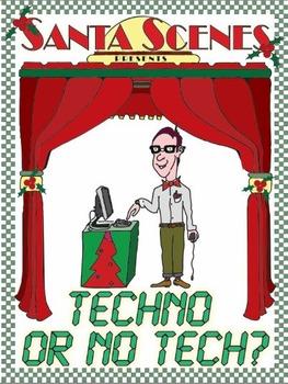 Christmas Plays For Kids.Techno Or No Tech A Christmas Play