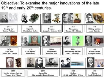 Technological Advances Activity Guide and Materials