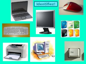 Technologie Technology in French power point