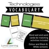 Technologies Vocabulary