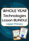 Technologies - Year Long Lesson BUNDLE! (Upper Primary)