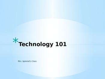 Technology 101 PowerPoint (Editable)