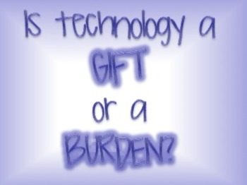 Technology: A Gift or a Burden? Inventions of the American Industrial Revolution