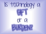 Technology: A Gift or a Burden? Inventions of the American