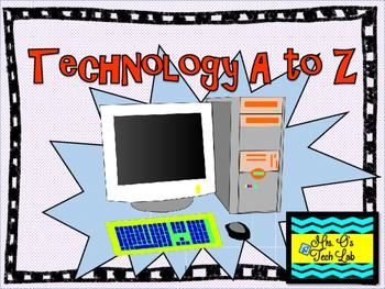 Technology A to Z Alphabet Cards
