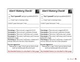 Technology Accountability- History Checks