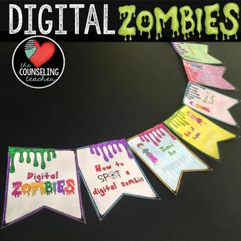 Technology Addiction Banner Craft