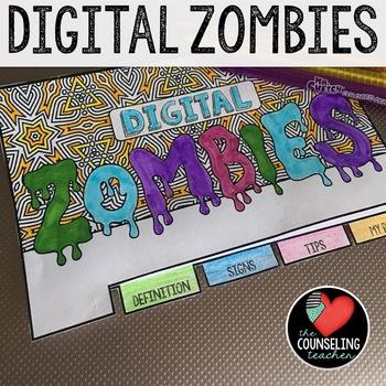 Technology Addiction Flipbook & Bookmarks