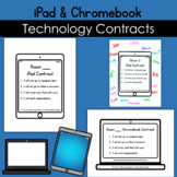 Technology Agreement iPad Chromebook Contract Poster