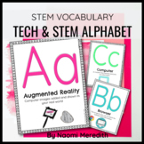 Technology and STEM Alphabet Cards/Word Wall