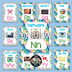Technology Alphabet Posters - Rainbow Theme - Classroom Decor