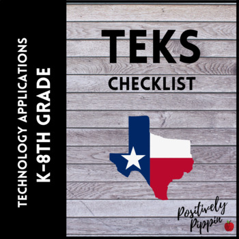 Technology Applications Vertical TEKS Checklist (Elementary & Middle)
