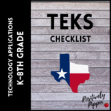 Technology Applications Vertical TEKS Checklist (Elementar