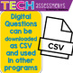 Technology Assessments - Level 1 Print and Digital