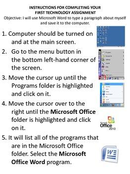 Technology Assignment Instructions