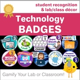 Technology Badges - Student Recognition and Room Decor