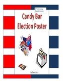 Technology Based Candy Bar Election Poster