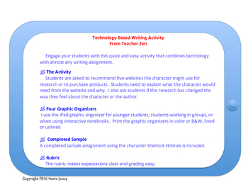 Technology-Based Writing Activity