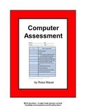 Computer Skills FREE Checklist