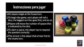 Technology Board Game- For Spanish class