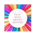 Technology Book Report Menu