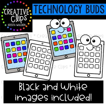 Technology Buds: Technology Clipart {Creative Clips Clipart}