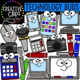 Technology Buds: Technology Clipart {Creative Clips Clipart}