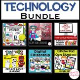 Technology Bundle | Digital Citizenship, Posters, Robotics, Google™ Activities
