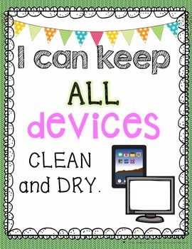 Technology Care Posters
